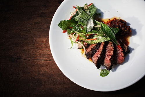 La meilleure viande de Marrakech, la Paillote restaurant